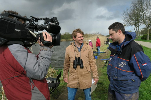 In Vis TV Next scouten we jeugdig vistalent met witviscrack Jurgen Spierings (r)