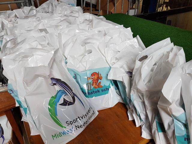 Voor de eerste 200 jeugdige bezoekers is er een goodie-bag.