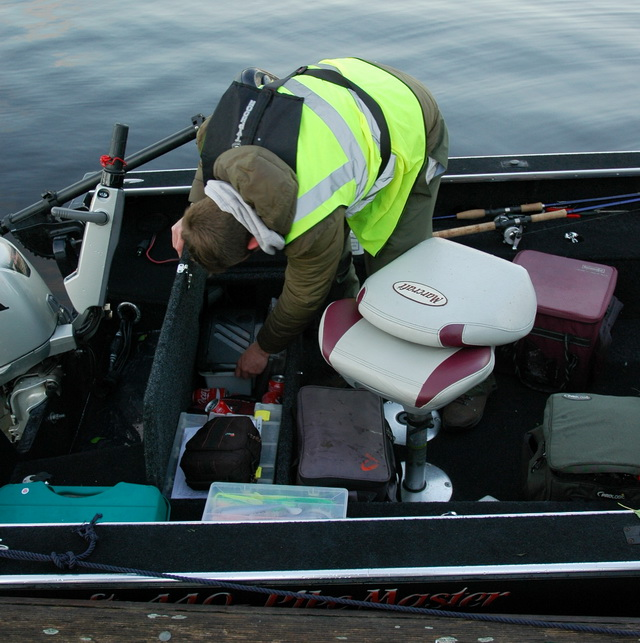 Voor elke wedstrijddag zal elke boot zorgvuldig gecontroleerd worden.