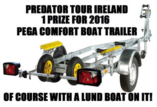 Pega boat trailer H   750 / 525 Comfort  www.pegabv.nl