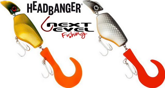 Next Level Fishing verdeler van Headbanger Lures.