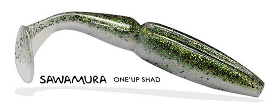 Sawamura One Up Shads bij Nipro Hengelsport!