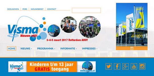 Vernieuwde Visma 2017 website online!