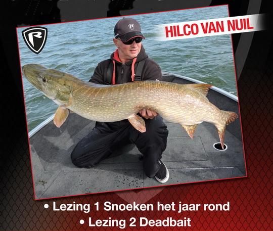 Lezing van Fox Rage consultant Hilco van Nuil op 20 januari in Noord Holland.