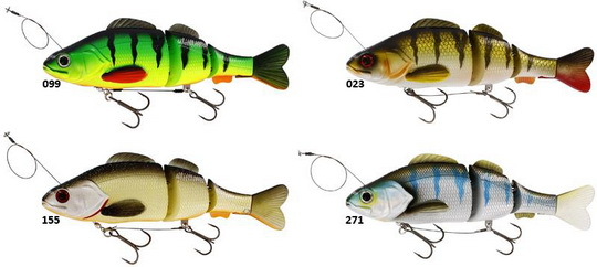 Nu bij Rien de Wolf Hengelsport. Percy the Perch inline hardlure.
