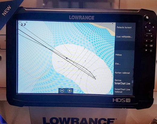 De NOS56 software is live for Lowrance Gen3 en Elite 5&7.