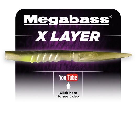 De X-Layer van Megabass