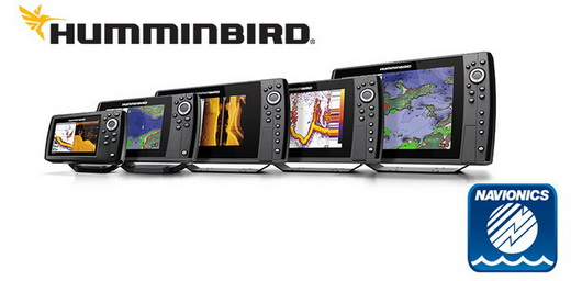 Humminbird met gratis Navionics kaart*