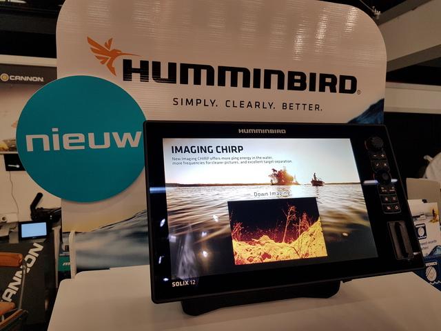 Primeur op de Visma,de nieuwe Humminbird solix 12 en 15