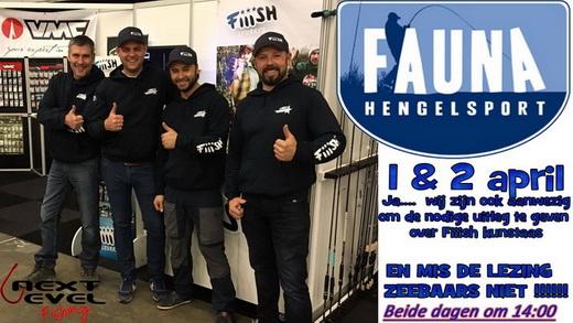 Next Level Fishing aanwezig tijdens de grootse opening van Fauna Hengelsport 2.0