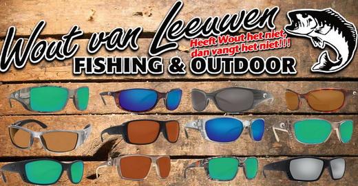 Ruime selectie van Costa del Mar zonnebrillen bij Wout van Leeuwen Fishing & Outdoor!