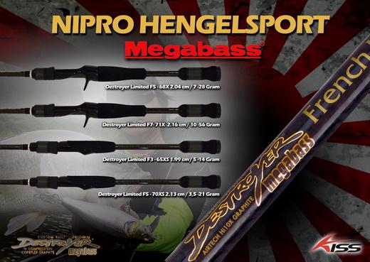 Megabass producten nu bij Nipro Hengelsport.