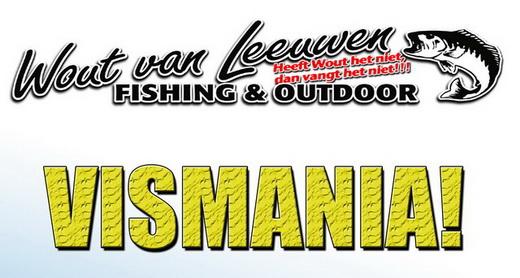 Vismania bij Wout van Leeuwen Fishing & Outdoor op 28 & 29 april.
