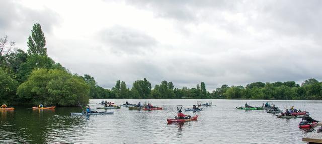 Wraysbury lake