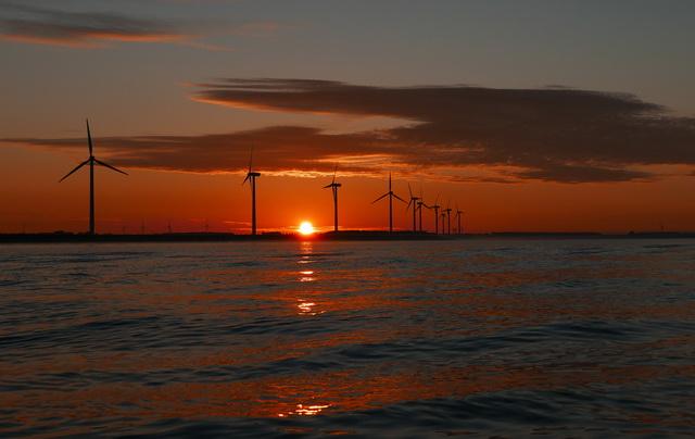 Prachtige zonsopkomst....