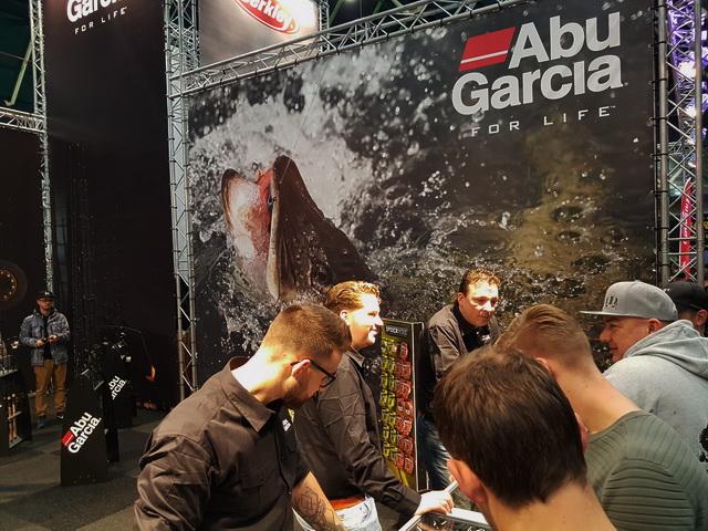 Ook op de stand van Abu Garcia weer wat nieuwtjes gespot