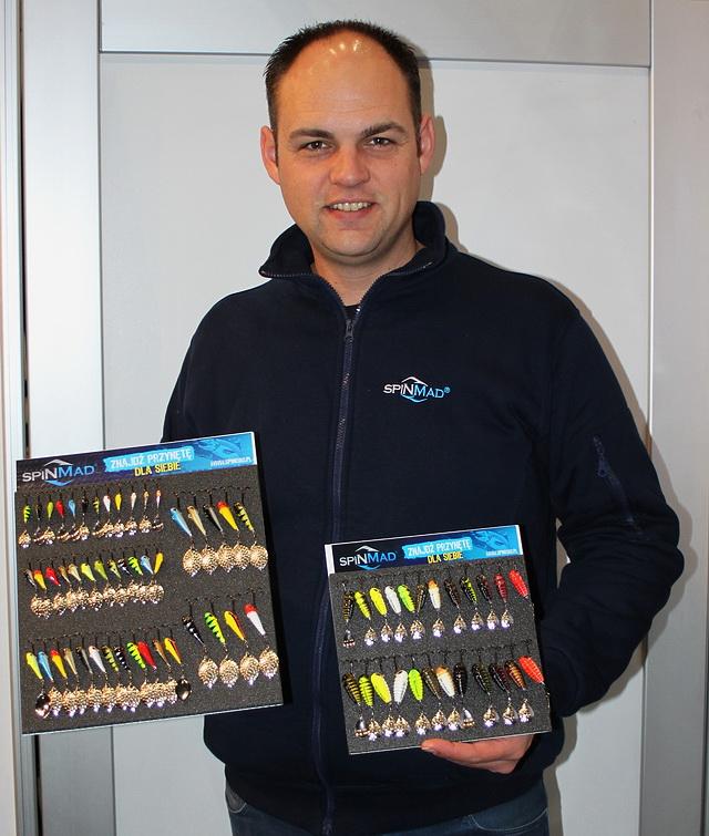 Michel Oostdijk verdeler van het merk Spinmad