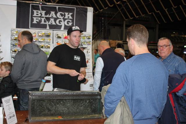 Ook veel bekijks bij de demo's bij Black Flag.