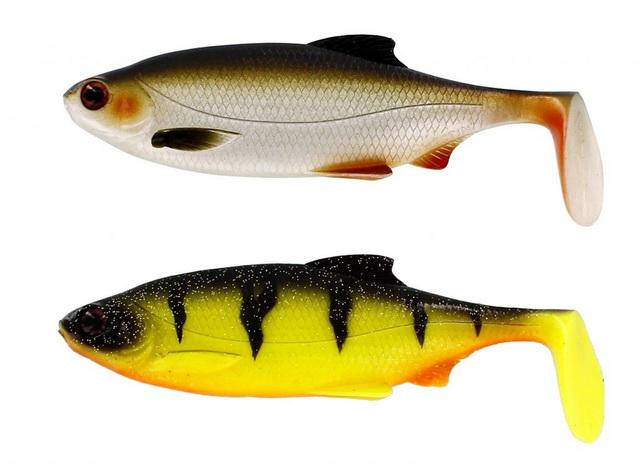 Ricky the Roach is verkrijgbaar in een zestal fantastische kleuren voor zowel helder als meer troebel water.