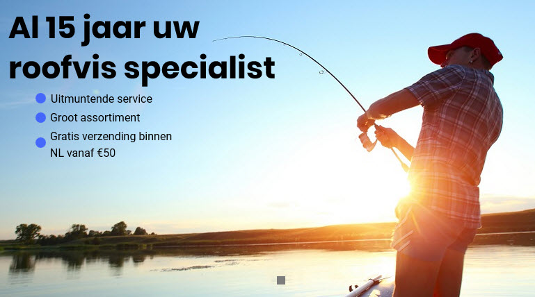 Nieuwe website www.fishingdirect.nl online!