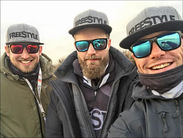 Met het FreeStyle-team op pad!
