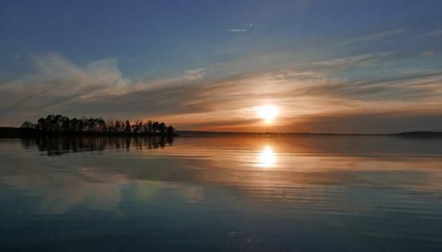 Glan, lijkt wel of alle wateren in Zweden iets magisch hebben