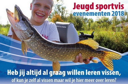 Jeugdsportvisevenementen 2018 Sportvisserij Fryslân