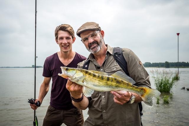 Kribhoppen met Marco en Willem Romeijn, als dát geen vis vis oplevert.