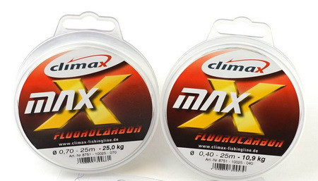 Climax Max Mono fluorocarbon is enorm slijtvast