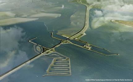 Vismigratierivier Afsluitdijk in september de markt op.