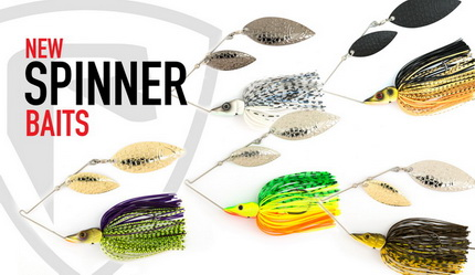 De nieuwe Chatterbaits en Spinnerbaits van Fox Rage
