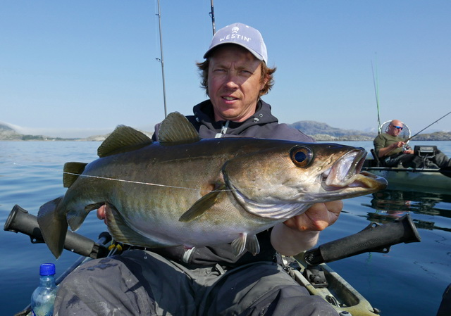 Het is en blijft een fantastisch verslavend spelletje de visserij op Pollak.