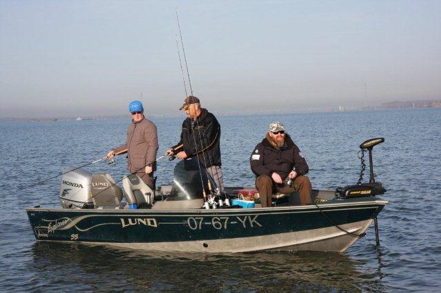 Roofvissen vanuit de boot