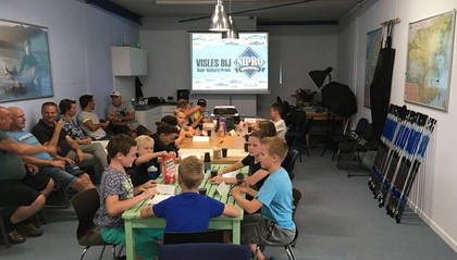 Vis-cursus voor de jeugd bij Nipro Hengelsport.