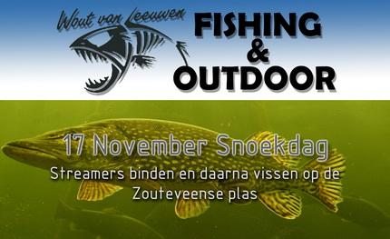 17 november snoekdag bij Wout van Leeuwen Fishing & Outdoor.