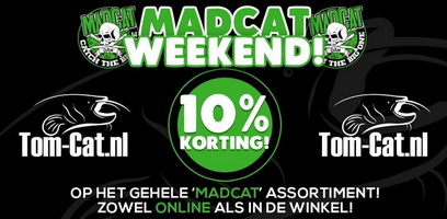 Madcat weekend bij meervalshop tom-cat.nl