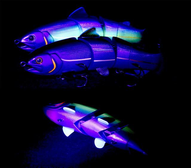 Onder een UV-lamp zijn zelfs de natuurlijkste kleuren plots opvallend!