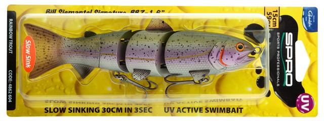 Roofvissen zetten hun tanden graag in deze swimbait!