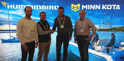 Humminbird, Minn Kota en Talon Premiumpartner Predatortour