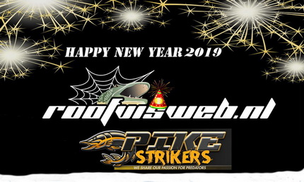 Roofvisweb en Pike Strikers 2019