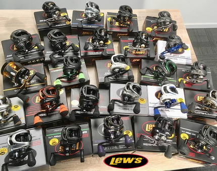Mac Fishing BV, distributeur Benelux, LEW'S Reels USA.