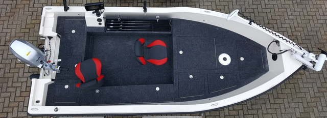 Orka Blackfish 500 tiller indeling