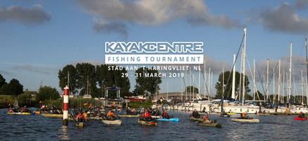 Het Haringvliet is van 29 tot en met 31 Maart dé KAYAK FISHING hotspot van Europa
