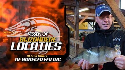 Vissen Op Bijzondere Locaties – Aflevering #1 De Broekerveiling