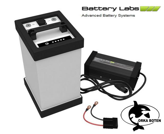 Orka boten maakt weer een stap met Battery Labs