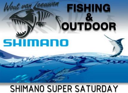 Shimano super zaterdag bij Wout van Leeuwen!