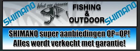 Shimano super aanbiedingen bij Wout van Leeuwen Fishing & Outdoor Vlaardingen!