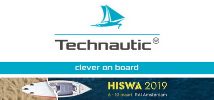 Technautic is aanwezig op de Hiswa