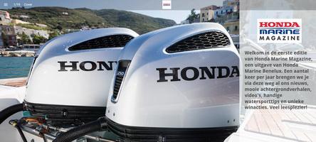 Eerste Honda Marine Magazine Online.