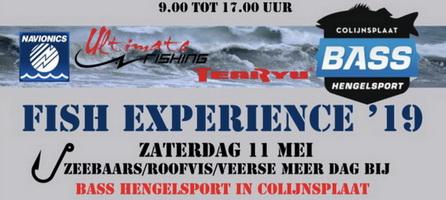 11 mei Fish Experience dag bij Bass Hengelsport